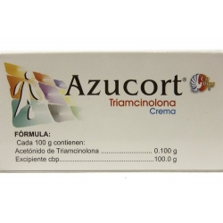 AZUCORT (TRIAMCINOLONE) 40GRS CREAM - MEXIPHARMACY