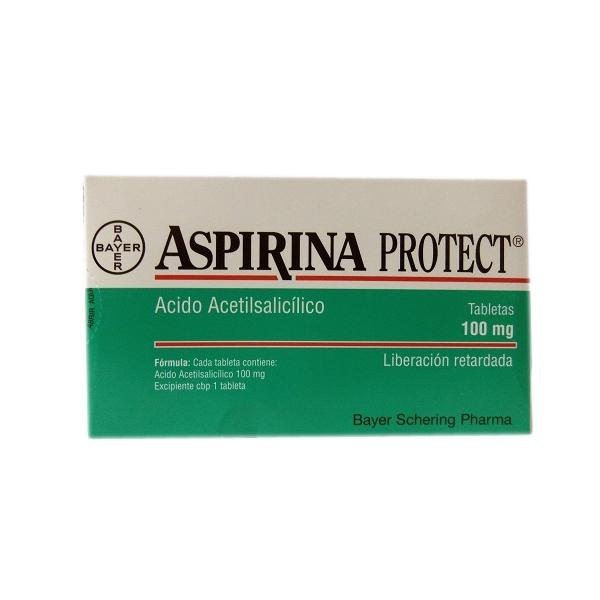 ASPIRINA PROTECT  (ACIDO ACETILSALICILICO) 100MG 28TAB