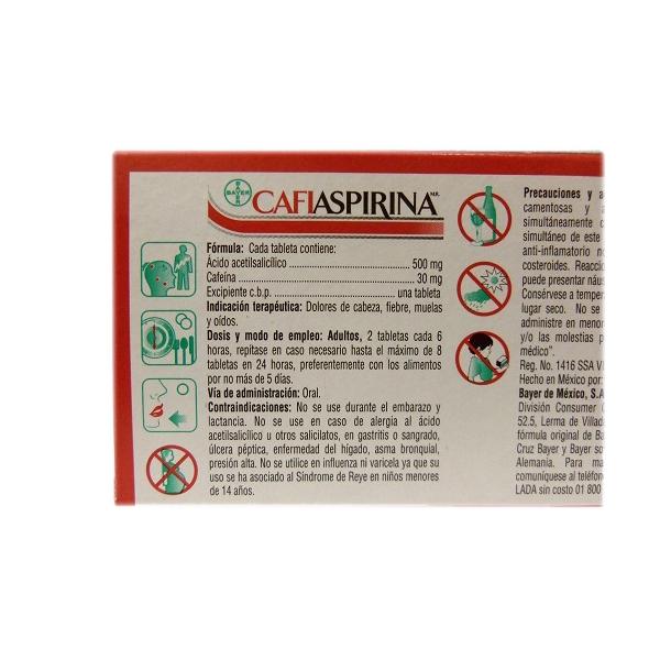 CAFIASPIRINA  40TAB