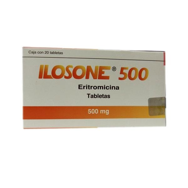 ILOSONE (ERITROMICINA) 500MG 20TAB