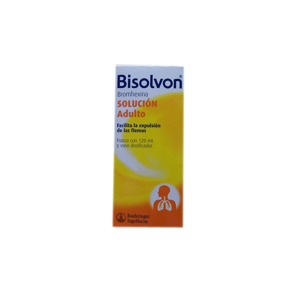 BISOLVON (BROMHEXINA) 160MG 120ML