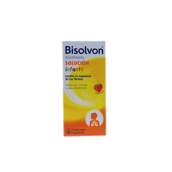 BISOLVON INFANTIL (BROMHEXINA) 80MG 120ML