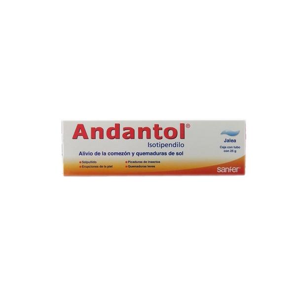 ANDANTOL (ISOTIPENDILO) 25G