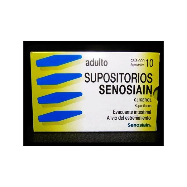 SUPOSITORIOS SENOSIAIN ADULTO