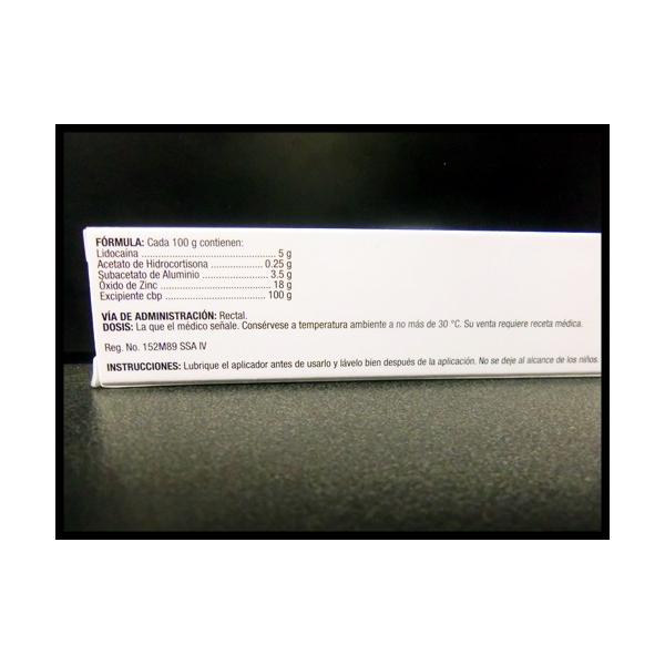 DERMANOL (Lidocaina con hidrocortisona) ung 20gr