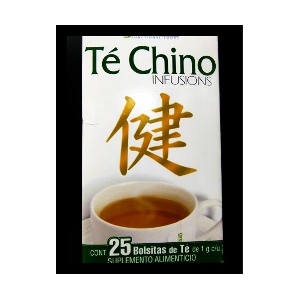 TE CHINO INFUSIONS 1G 25BOLSAS