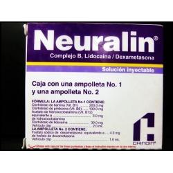 NEURALIN ( Complejo b.Lidocaina.dexametasona) sol iny