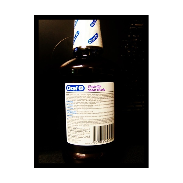 ORAL B Enjuague bucal para Gingivitis 350ml  *THIS PRODUCT IS ONLY AVAILABLE IN MEXICO