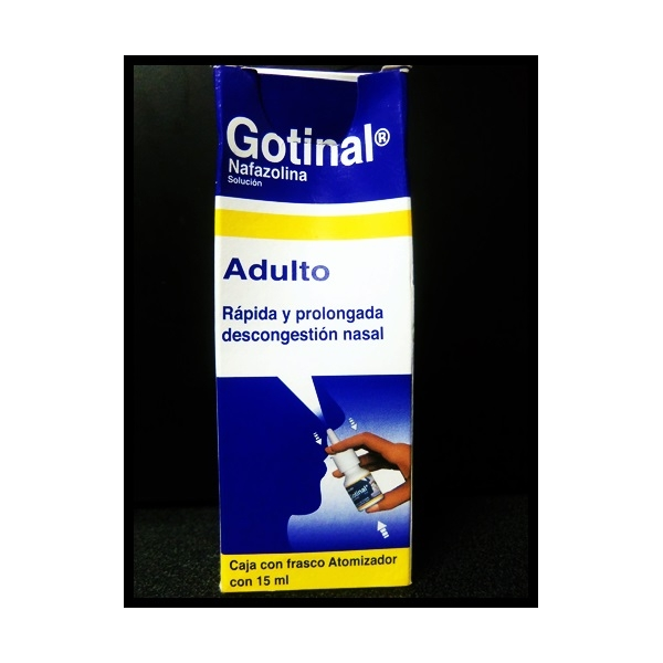 GOTINAL (NAFAZOLINA) 1MG 15ML