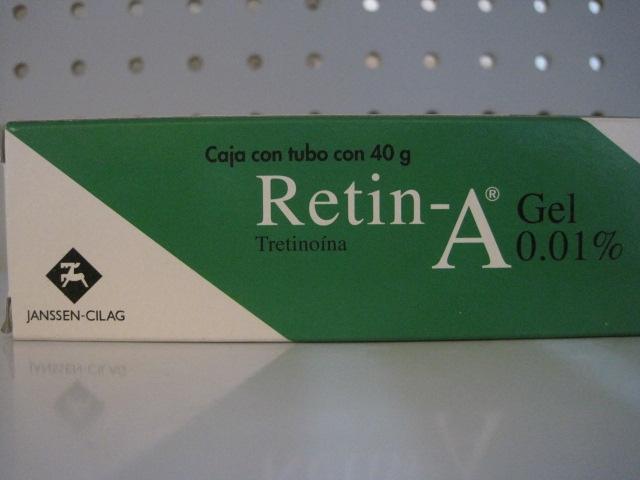 RETIN-A (TRETINOINA) 0.01%GEL 40G