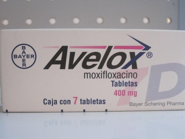 AVELOX (MOXIFLOXACINO) 7D 400MG 7TAB