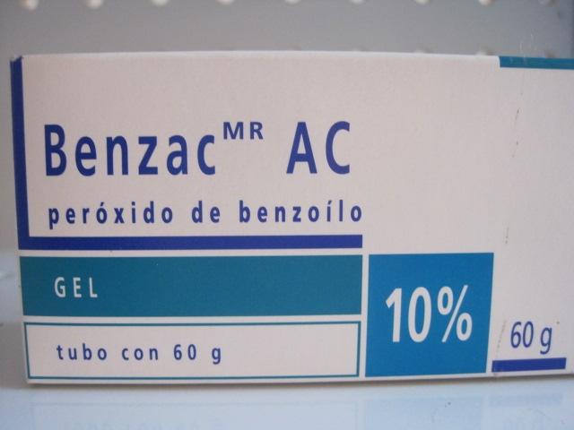 BENZAC AC(PEROXIDO DE BENZOILO) 10% 60G GEL