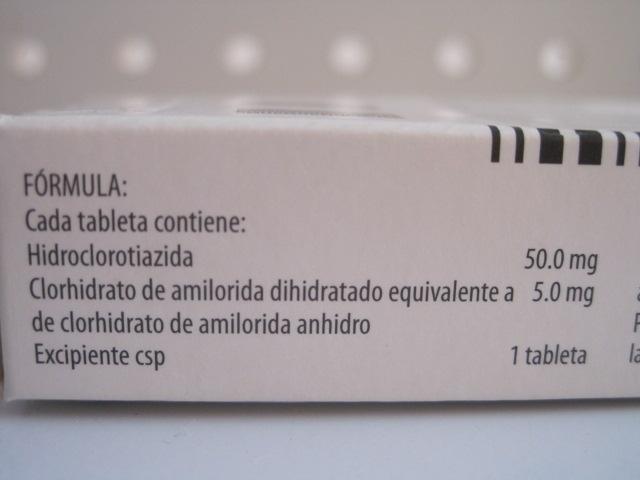 Amiloride Hctz 5 50