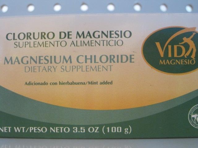 VIDA MAGNESIO (CLORURO DE MAGNESIO) 100G
